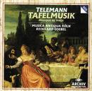 Telemann: Banquet Music in three Parts/Musica Antiqua Köln, Reinhard Goebel