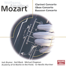 Mozart: Concertos for Clarinet, Oboe & Bassoon/Jack Brymer, Neil Black, Michael Chapman, Academy of St. Martin in the Fields, Sir Neville Marriner