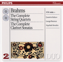 Brahms: The Complete String Quartets/Clarinet Sonatas/Quartetto Italiano, George Pieterson, Hepzibah Menuhin