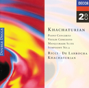 Khachaturian: Piano Concerto/Violin Concerto, etc./Aram Il'yich Khachaturian, Anatole Fistoulari, Stanley Black, Rafael Frühbeck de Burgos