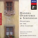 Handel, etc.: Overtures of the 18th Century/English Chamber Orchestra, Richard Bonynge