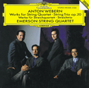 Webern: Works for String Quartet; String Trio Op.20/Emerson String Quartet, Mary Ann McCormick