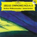 Sibelius: Symphonies Nos. 4 & 5/Berliner Philharmoniker, James Levine