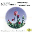 """Schumann: Symphony No. 1 """"Spring""""; Symphony No. 4/Chicago Symphony Orchestra, Daniel Barenboim"""