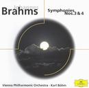 Johannes Brahms: Symphony Nos. 3 & 4/Wiener Philharmoniker, Karl Böhm
