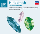 Hindemith: Orchestral Works/San Francisco Symphony, Gewandhausorchester Leipzig, Herbert Blomstedt