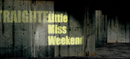 Little Miss Weekend/ストレイテナー