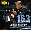 Beethoven: Piano Concertos Nos. 1 & 3/Mikhail Pletnev, Russian National Orchestra, Christian Gansch
