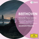 ベートーヴェン:ピアノ・ソナタ<悲愴><月光><テンペスト><ワルトシュタイン><熱情><告別>/Maurizio Pollini