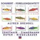 シューベルト:ピアノ五重奏曲<ます>/モーァルト:ピアノ四重奏曲第1番/Alfred Brendel, Thomas Zehetmair, Tabea Zimmerman, Richard Duven, Peter Riegelbauer