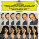 Mendelssohn: Concerto for Violin, Piano and Strings; Violin Concerto/Gidon Kremer, Martha Argerich, Orpheus Chamber Orchestra