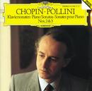 ショパン:ピアノ・ソナタ第2番、第3番/Maurizio Pollini