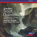 Schubert: Trout Quintet; 6 Moments musicaux/András Schiff, Hagen Quartett, Alois Posch