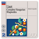 Liszt: Complete Hungarian Rhapsodies/Michele Campanella