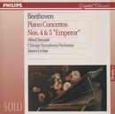 """Beethoven: Piano Concertos Nos.4 & 5 """"Emperor""""/Alfred Brendel, Chicago Symphony Orchestra, James Levine"""