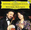 ベートーヴェン:チェロ・ソナタ第3~5番、他/Mischa Maisky, Martha Argerich