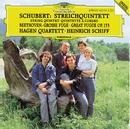シューベルト:弦楽五重奏曲、ベートーヴェン:大フーガ/Hagen Quartett