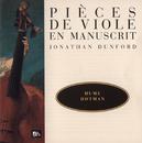 Hume-Ford-Hotman-Dubuisson-Verdufen - Pièces de viole en manuscrit/Jonathan Dunford
