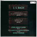 Bach, J.S.: Cantatas Nos. 56 & 82/John Shirley-Quirk, Academy of St. Martin in the Fields, Sir Neville Marriner