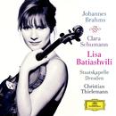 ブラームス:ヴァイオリン協奏曲/クララ・シューマン:3つのロマンス/Lisa Batiashvili, Staatskapelle Dresden, Christian Thielemann, Alice Sara Ott