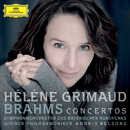 Brahms: Piano Concertos (Live)/Hélène Grimaud, Symphonieorchester des Bayerischen Rundfunks, Wiener Philharmoniker, Andris Nelsons