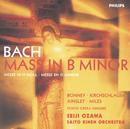 Bach, J.S.: Mass in B minor, BWV232/Barbara Bonney, Angelika Kirchschlager, John Mark Ainsley, Alastair Miles, Tokyo Opera Singers, Saito Kinen Orchestra, Seiji Ozawa