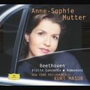 Beethoven: Violin Concerto; Romances/Anne-Sophie Mutter, New York Philharmonic Orchestra, Kurt Masur