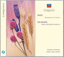 Grieg: Symphony In C Minor; Goldmark: Rustic Wedding Symphony/Karsten Andersen, Jesús López-Cobos