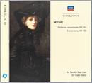 Mozart: Sinfonia Concertante, KV364; Concertone,KV190/Sir Neville Marriner, Sir Colin Davis