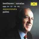 Beethoven: Piano Sonatas Opp. 54, 57, 78, 90/Maurizio Pollini