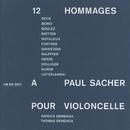 12 Hommages à Paul Sacher pour Violoncelle/Thomas Demenga, Patrick Demenga