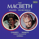 Verdi: Macbeth/Luciano Pavarotti, Elena Suliotis, Dietrich Fischer-Dieskau, Nicolai Ghiaurov, Ambrosian Opera Chorus, London Philharmonic Orchestra, Lamberto Gardelli
