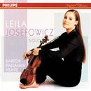 Bartok/Paganini/Ysaye/Schubert etc.: Sonata for Solo Violin etc./Leila Josefowicz
