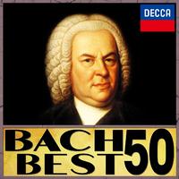 バッハ・ベスト50 (G線上のアリア、トッカータとフーガ、ブランデンブルク協奏曲、ゴルトベルク変奏曲、マタイ受難曲、クリスマス・オラトリオなどバッハの名曲50曲を名演奏家達の演奏で)