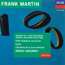 Martin: Concerto For 7 Wind Instruments, Etudes, Petite Symphonie Concertante/L'Orchestre de la Suisse Romande, Ernest Ansermet