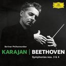 Beethoven: Symphonies Nos. 3 & 4/Herbert von Karajan, Berliner Philharmoniker