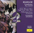 Mahler: Symphonies Nos. 10 & 8/Philharmonia Orchestra, Giuseppe Sinopoli