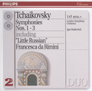 Tchaikovsky: Symphonies Nos.1-3/London Symphony Orchestra, New Philharmonia Orchestra, Igor Markevitch