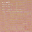 Stravinsky:The Rite of Spring/The Firebird/National Youth Orchestra Of Great Britain, Simon Rattle, Royal Philharmonic Orchestra, Antal Doráti