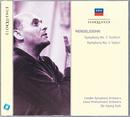 Mendelssohn: Symphonies Nos. 3 & 4/Sir Georg Solti