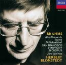 Brahms: Works for Chorus & Orchestra/Jard van Nes, San Francisco Symphony Chorus, San Francisco Symphony, Herbert Blomstedt