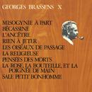 Georges Brassens X (N°12) Misogynie à part/Georges Brassens