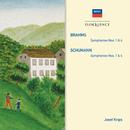 Brahms: Symphonies Nos.1 & 4; Schumann: Symphonies Nos.1 & 4/Wiener Philharmoniker, London Symphony Orchestra, Josef Krips