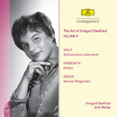 The Art Of Irmgard Seefried - Volume 9: Lieder By Wolf; Hindemith; Reger/Irmgard Seefried, Erik Werba