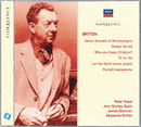 Britten: Seven Sonnets of Michelangelo; Winter Words; Who Are These Children?/Sir Peter Pears, John Shirley-Quirk, James Bowman, Benjamin Britten