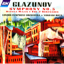 Glazunov: Symphony No. 3; Stenka Razin; The 2 Serenades/London Symphony Orchestra, Yondani Butt