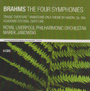 Brahms: The Four Symphonies; Tragic Overture; Variations on a Theme by Haydn, Op.56a; Academic Festival Overture/Marek Janowski, Royal Liverpool Philharmonic Orchestra