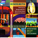 Hindemith: Violin Concerto; Kammermusik No. 4; Suite of French Dances; Concerto for Orchestra/Michael Guttman, Philharmonia Orchestra, José Serebrier