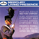 Gould: West Point Symphony/Hovhaness: Symphony No.4/Giannini: Symphony No. 3/Eastman Wind Ensemble, Frederick Fennell, A Clyde Roller