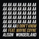 U Don't Know (feat. Wayne Coyne)/Alison Wonderland